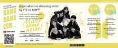 Chibi Wallpaper, Army Wallpaper, Bang Bang, Bts Concert Tickets, Lockscreen Bts, Bts Home Party, Kpop Diy, Journaling, Tutorials