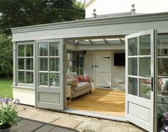 real summer house feel to this simply delightful orangery