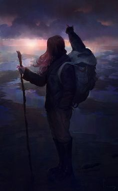 picture prompt: Weary travellers. write the story of the two companions