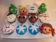 Rudolph Cupcakes by designercupcakesandmore, via Flickr