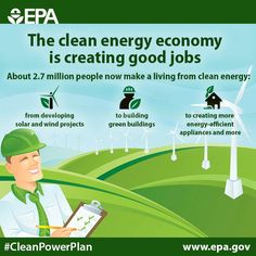 Clean energy is strengthening our country's economy. A global climate agreement in Paris can help keep clean energy growing, both here and abroad. #ActOnClimate #COP21