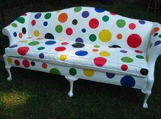 Polka Dot Sofa