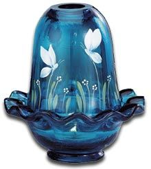 Fenton Butterfly Minuet Art Glass
