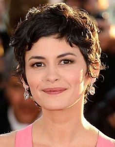 Pixie Haircut with Curly Hair