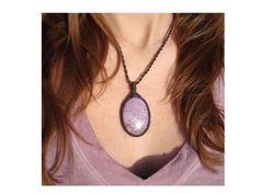 Purpurite Necklace/Innocence/Lilac/Lavender/Rare von GaiasGiftsToUs