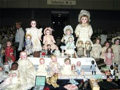 "Dolls belonging to the Grand Duchesses displayed at the Toy and Doll Museum. ""AL"""