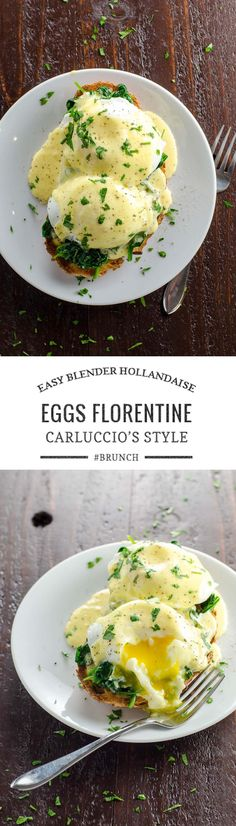 An impressive but easy brunch: Eggs Florentine, inspired by a favorite tradition from our London days. via @umamigirl