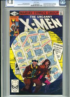 CGC comic book for sale: Uncanny X-Men #141 CGC 9.8 ending Sunday, January 20th on eBay www.miraclecomics.com