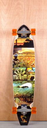 """Sector 9 40"""" Voyager Longboard Complete Bottom"""