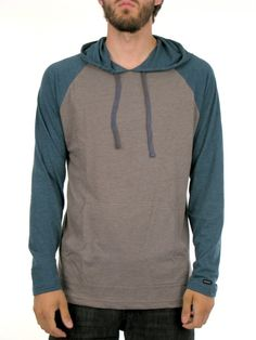L/S Castro Hooded Raglan - Empire Online Store - Skateboards, Snowboards, Street Fashion