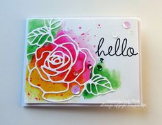 CC566 - Homemade Cards, Rubber Stamp Art, & Paper Crafts - Splitcoaststampers.com. Love this. All Stampin' Up supplies.