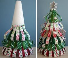 New Christmas Tree Decorations Paper Ornament Tutorial Ideas Types Of Christmas Trees, Diy Christmas Tree, Christmas Projects, Christmas Holidays, Christmas Ornaments, Xmas Tree, Holiday Crafts, Holiday Fun, Ornament Tutorial