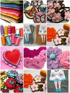lots of felt ideas