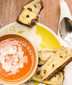 Moldando Afeto » sopa de tomates assados