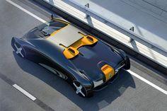 Tecnoneo: El diseño de Opel H nos muestra un nuevo concepto futurista de coche autónomo