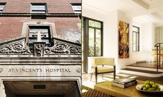From hospital to homeSt. Vincent's HospitalNew York CityRosie O'Donnell has digs in the storied St. Vincent's Hospital, now a posh condominium in Greenwich Village. In 2012, O'Donnell reportedly paid $8 million for a four-bedroom apartment in the 12-story building. The complex, One Thirty West 12, once housed offices for St. Vincent's. It was sold for $55 million in 2010.Its 42 luxury condos initially were offered for $1.4 million to $12.85 million.