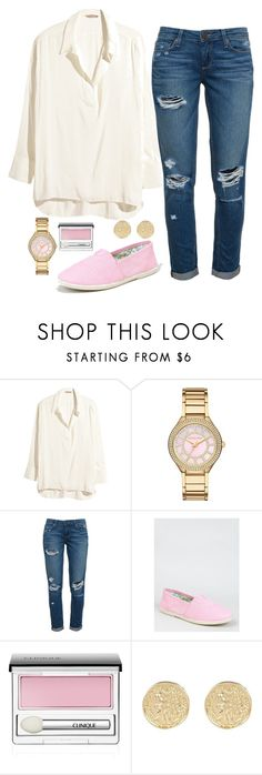 """""""Geen titel #417"""" by dipske ❤ liked on Polyvore featuring H&M, Michael Kors, Paige Denim, Soda, Clinique and River Island"""