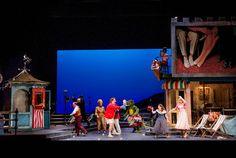 Cosi Fan Tutte. Welsh National Opera. Scenic design by Max Jones.