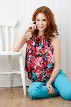 Make this beautiful Sewing Bee drape top with your pattern FREE with the June issue! (Sew magazine, June, issue 60)