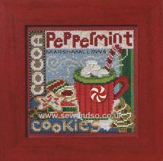 Buy Santa's Treats Cross Stitch Kit online at sewandso.co.uk
