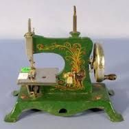 vintage toy Pfaff sewing machine - Google Search