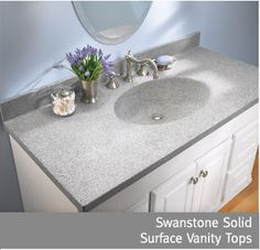 Swanstone Products On Pinterest Solid Surface Php And White Vanity