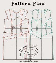 well-suited: Pattern Puzzle - Random Tucks and Pleats