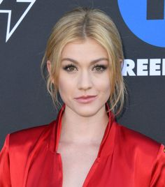 Katherine McNamara attends Annual Freeform Summit at Goya Studios on March 2019 in Los Angeles, California.