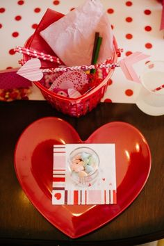 DIY Valentine Craft Kid Party | Valentine Card-Making Party | Natalie Bradley Events | Soiree | Southern Event Planning | Event Crafts