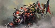 Beyblade Characters, Dnd Characters, Fantasy Characters, Character Portraits, Character Art, Character Design, Warcraft Orc, Blizzard Warcraft, World Of Warcraft Gold