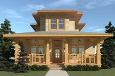 House Plan 028-00156 - Narrow Lot Plan: 2,844 Square Feet, 4 Bedrooms, 4 Bathrooms