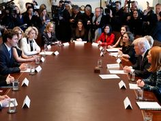 President Trump and Canadian Prime Minister Justin Trudeau unveiled a bilateral initiative Monday aimed at boosting women entrepreneurs, announcing the new panel at a roundtable on the issue in Washington. What Is Challenge, New Panel, Oval Office, First Lady Melania, Justin Trudeau, First Daughter, American Presidents, Business Women, Business Leaders