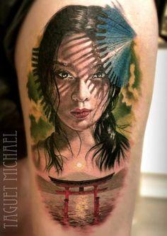 Amazingly beautiful tattoo artistry!!!