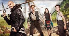 'Pan' Trailer #3 Has Mermaids, Giant Crocodiles & Tinkerbell -- An ancient prophecy haunts Blackbear the Pirate as Peter Pan's origin story is revealed in the latest trailer for 'Pan'. -- http://movieweb.com/pan-movie-trailer-3/