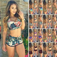 """1 Sexy Bikini Set. Color: as pictures. What You Get hope you could understand. Size Chart. Asian M 75cm /29.53"""" 72cm /28.35"""" 92cm /36.22"""". Asian S 70cm /27.59"""" 68cm /26.77"""" 88cm /34.65"""". 
