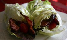 Bacon burger recipe paleo recipes blt roll ups, paleo bacon, low carb lunch Burger Recipes, Paleo Recipes, Low Carb Recipes, Whole Food Recipes, Cooking Recipes, Atkins Recipes, Paleo Food, Paleo Diet, Snack Recipes