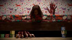 Monster Under My Bed. Maya, Renderman, Mari and Photoshop.