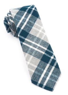 BRADENBURG PLAID TIES - TEAL | Ties, Bow Ties, and Pocket Squares | The Tie Bar