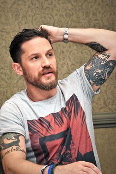 """""Dead Legacy is excited to now release the t-shirt designed for legend Tom Hardy which he wore promoting his 2015 smash 'Legend'"" http://deadlegacy.com/mens-clothing/new-in/mens-tomhardyxdl "" !!!..."