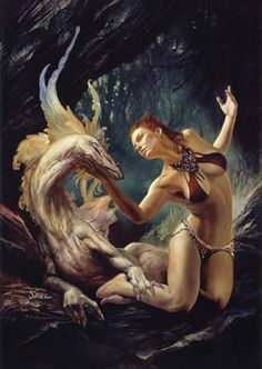 hard curves the fantasy art of julie bell