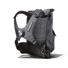 A high speed, watertight, versatile pack that carries your load close to your center of gravity and distributes the weight off of your shoulders allowing for a more aggressive riding style. This bag w