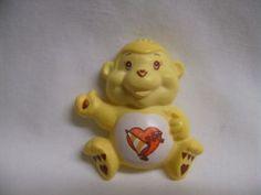 Vintage Care Bear Cousin Playful Heart Monkey Magnet