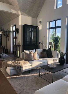 Dream Home Design, Home Interior Design, Interior Architecture, House Design, Interior Paint, Room Interior, Home Living Room, Living Room Designs, Aesthetic Rooms
