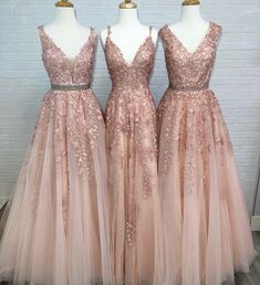 Beautiful bridesmaids gowns Prom Dresses, Formal Dresses, Fashion, Sweet 16 Dresses, Senior Prom, Formal Dress, Moda, Dresses For Formal, Fasion