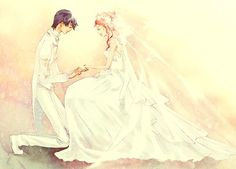 Hinata and Yui Getting Married!!!    (Angel Beats)