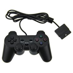 High quality for ps2 controller wired dual vibration joystick playstation | worth buying on AliExpress