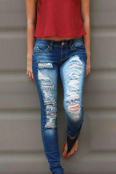 Loved N' Torn Skinny Jeans