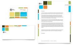 Staffing And Recruitment Agency Business Card And Letterhead