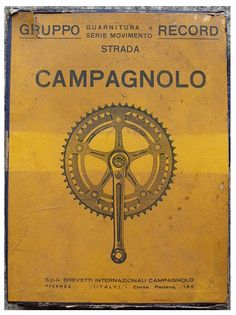 Campagnolo doesn't need words.....