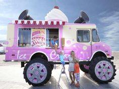 Monster Truck Ice Cream Van